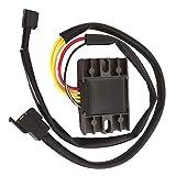 ACAMPTAR 新しい 電圧レギュレータ/整流器 鈴木400 DR-Z400Sオートバイ00 01 02 03 04-14