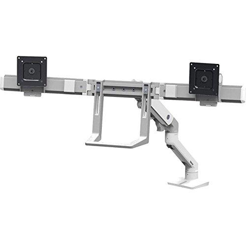 エルゴトロン HXデスクデュアルモニターアーム ホワイト 45-476-216