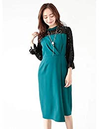 ca1ea59c7cc00 Amazon.co.jp  YECCA VECCA(イエッカヴェッカ) - ワンピース・ドレス ...