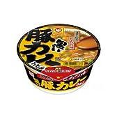 東洋水産 マルちゃん 黒い豚カレーうどん 1箱12食