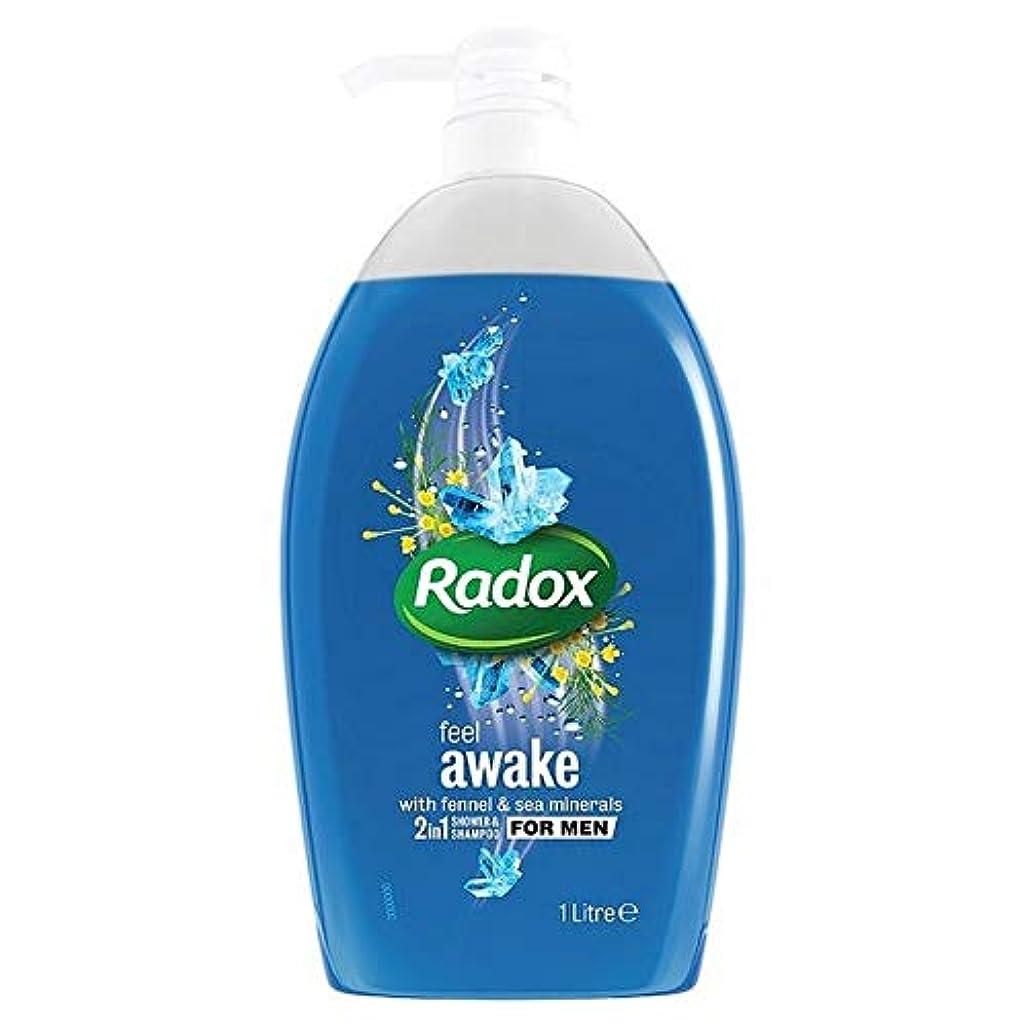 天聖書危険[Radox] Radoxは男性の2In1シャワーゲル1リットル用起き感じます - Radox Feel Awake for Men 2in1 Shower Gel 1L [並行輸入品]