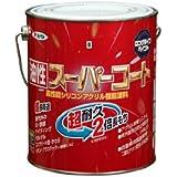 アサヒペン 油性スーパーコート 1.6L 青