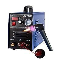 【進化版】CUT50P プラズマカッター エアープラズマ切断機 インバーター デジタル切断機 100v/200v兼用機 高性能 直流 軽量【送料無料】