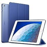 ESR iPad Air 2019 ケース iPad Air3 10.5インチ カバー 軽量 薄型 レザー オートスリープ機能 三つ折りスタンド スマートカバー 2019年発売の10.5インチ iPad 対応(ネイビーブルー)