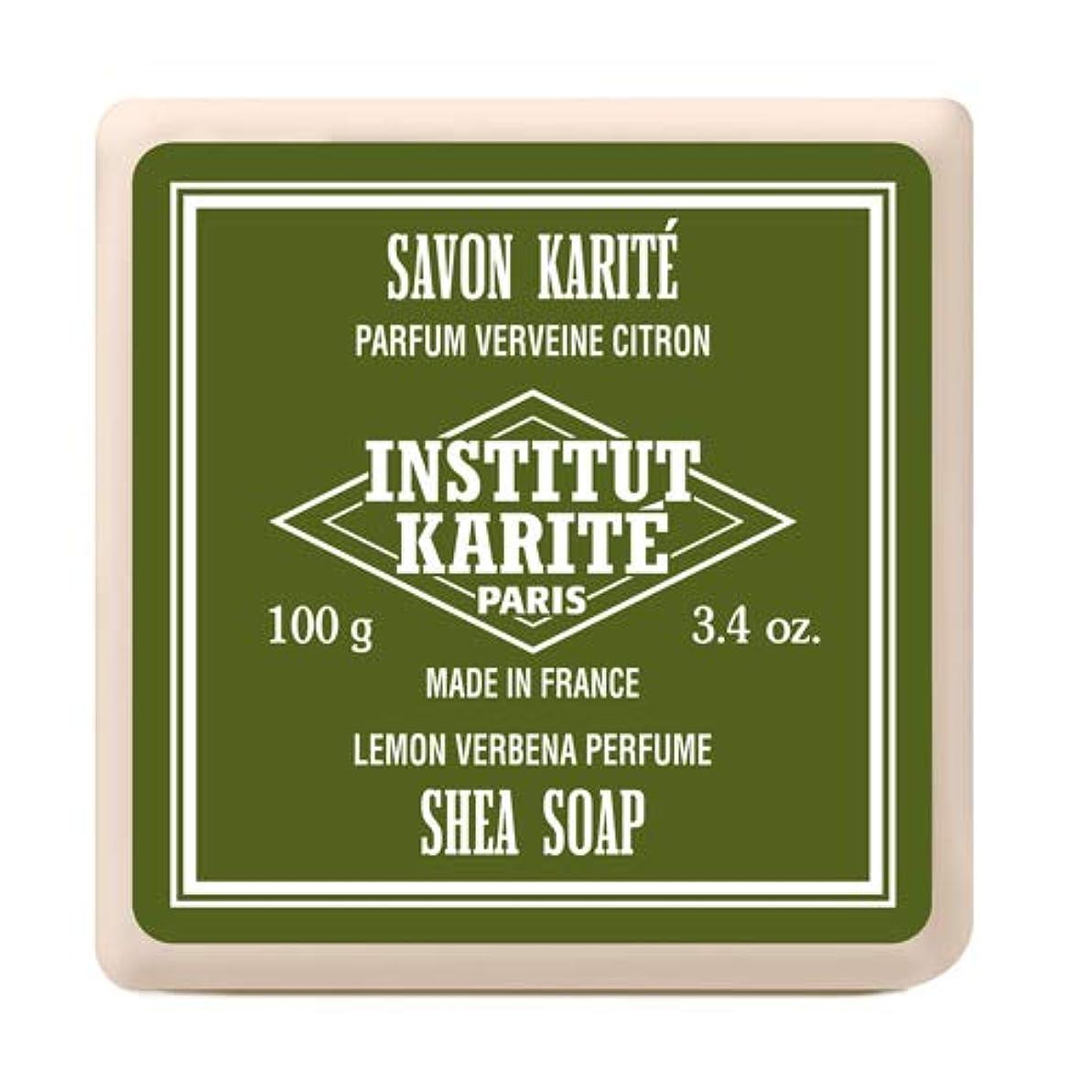 暴動適応泥沼インスティテュート?カリテ(INSTITUT KARITE) INSTITUT KARITE インスティテュート カリテ Shea Wrapped Soap シアソープ 100g Lemon Vervena レモンバーベナ