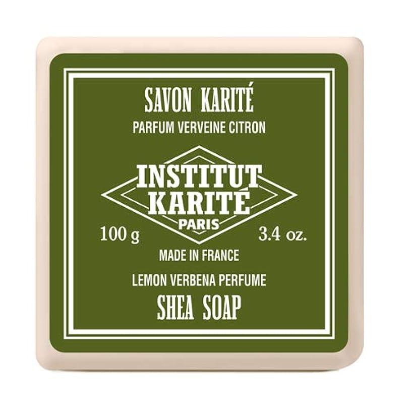 INSTITUT KARITE インスティテュート カリテ Shea Wrapped Soap シアソープ 100g Lemon Vervena レモンバーベナ