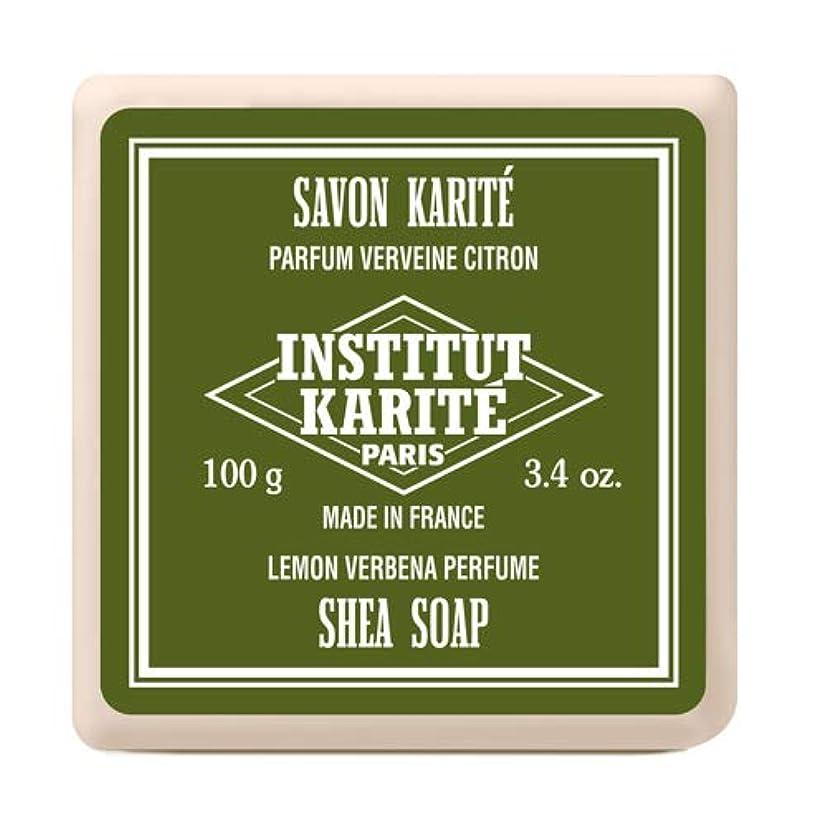 加害者護衛立ち向かうインスティテュート?カリテ(INSTITUT KARITE) INSTITUT KARITE インスティテュート カリテ Shea Wrapped Soap シアソープ 100g Lemon Vervena レモンバーベナ