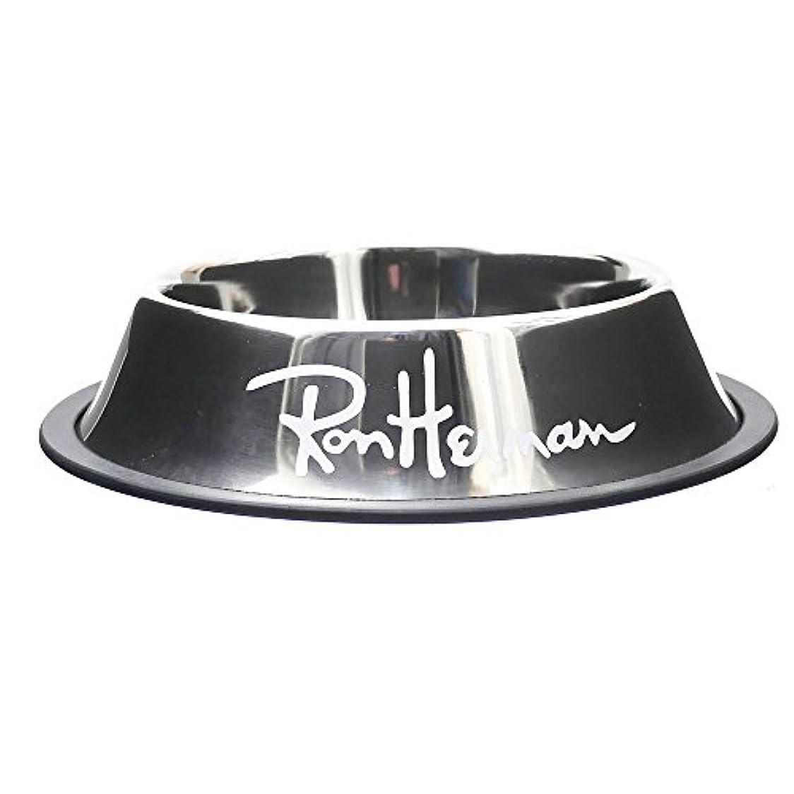 Ron Herman(ロンハーマン) DOG BOWL M (ドッグボウル) SILVERxWHITE 290-004596-042 【新品】 [並行輸入品]