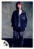 V6・【公式写真】・森田剛・JCロゴ・生写真【スリーブ付 】GU 102