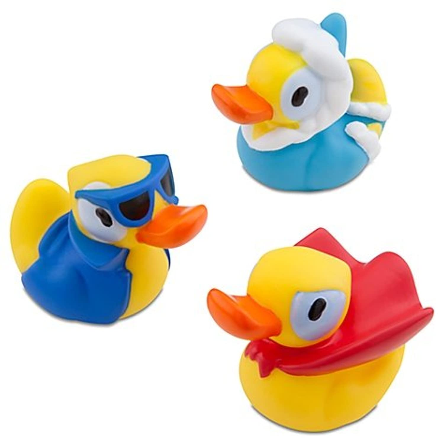 【Disney】 Where's My WATER? Rubber Duck Collection スワンピーのお風呂パニック! ラバーダック3匹セット