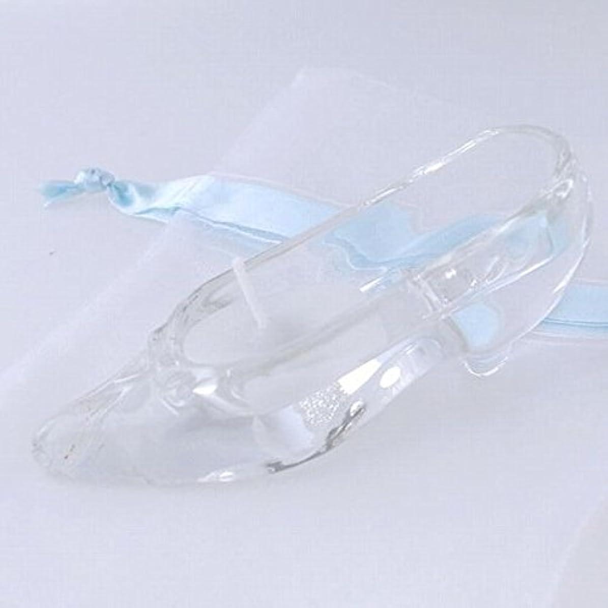 サイクロプス分離するデイジーkameyama candle(カメヤマキャンドル) ガラスの靴 「ホワイト」(A9510050W)
