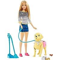 バービー人形Barbie Girls Walk and Potty Pup with Blonde Doll [並行輸入品]