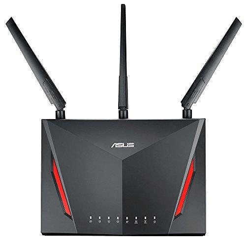 ASUS 2,167+750Mbps(11ac/n/a/g/b)デュアルバンドギガビット無線ルーター RT-AC86U (利用目安環境 最大18台...