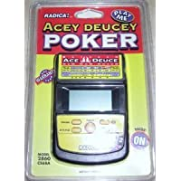 Acey Deucey Electronic Handheld Poker Game おもちゃ (並行輸入)