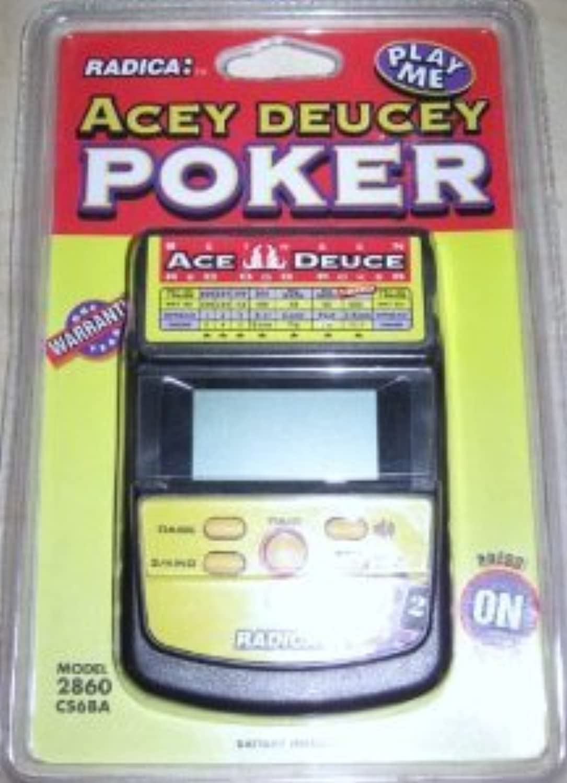 Acey Deucey Electronic Handheld Poker Game おもちゃ (並行輸入)