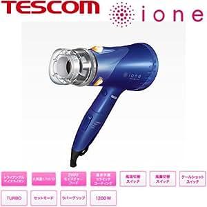 テスコム ヘアードライヤー(ネイビー)TESCOM ione マイナスイオン TID920-A
