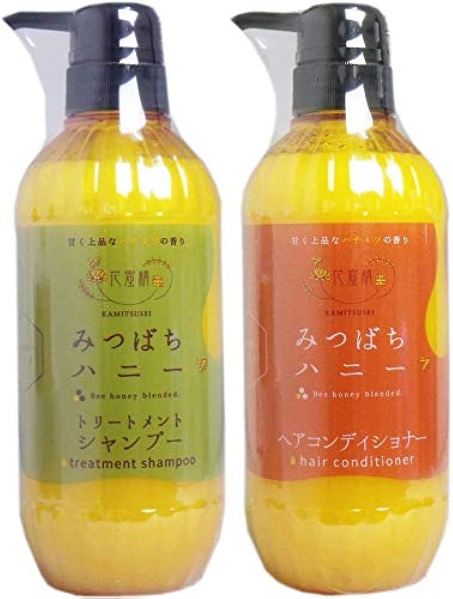 塗抹オピエートシンプルさ花蜜精 みつばちハニー シャンプー&ヘアコンディショナー 各500ml
