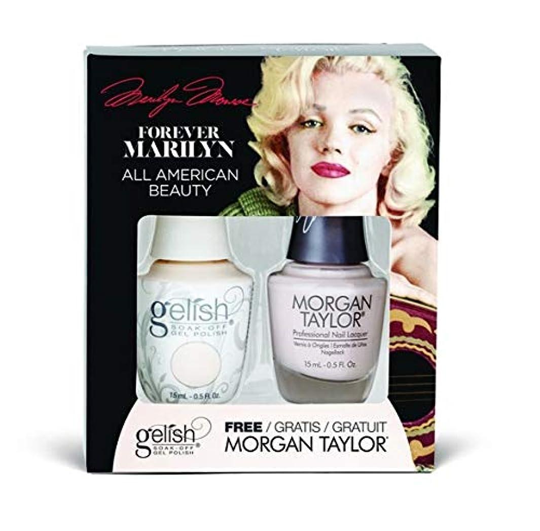 ねじれ記念碑的な説明的Harmony Gelish - Two of a Kind - Forever Marilyn Fall 2019 Collection - All American Beauty - 15ml / 0.5oz