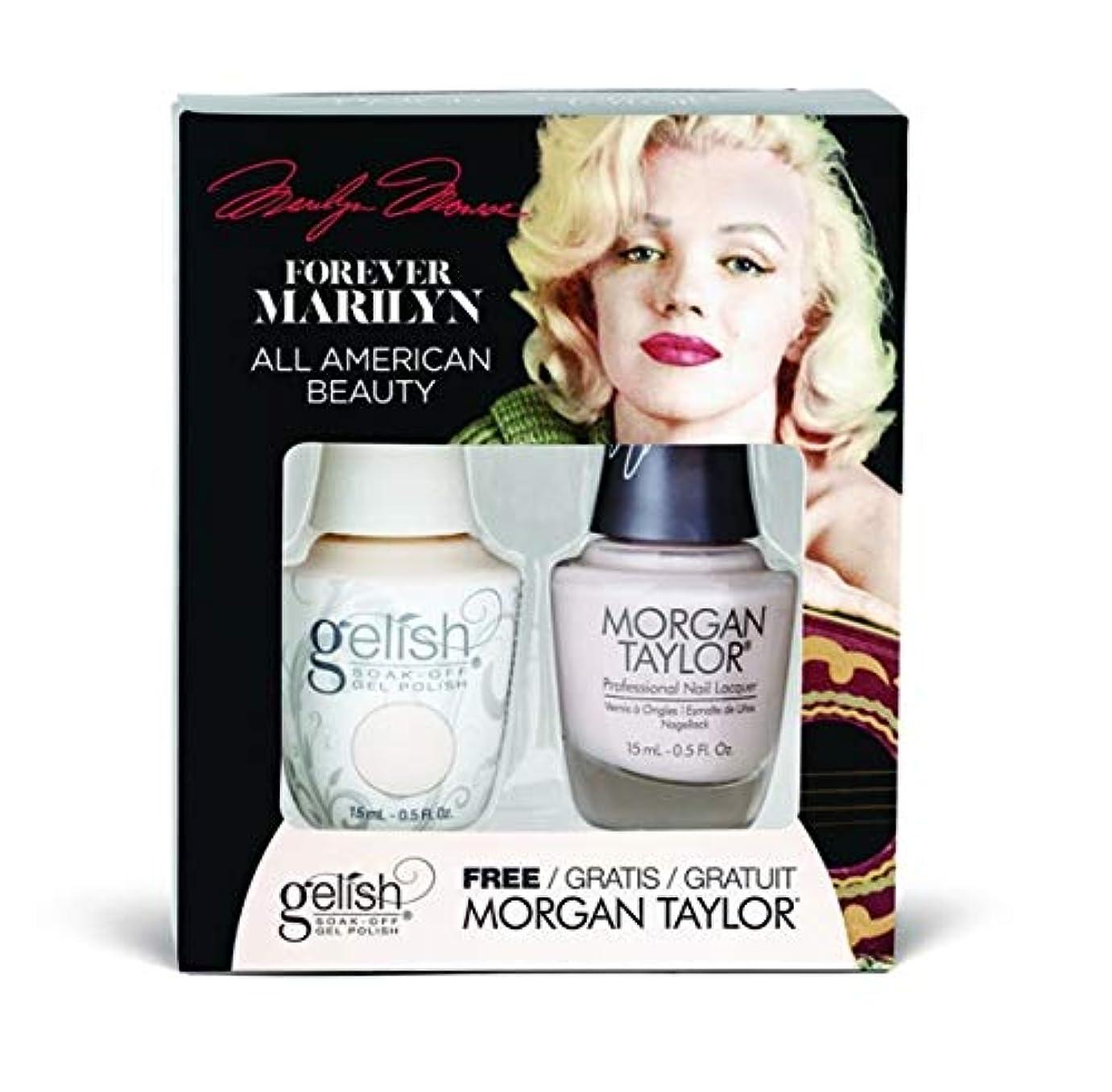 第五平らな臭いHarmony Gelish - Two of a Kind - Forever Marilyn Fall 2019 Collection - All American Beauty - 15ml / 0.5oz
