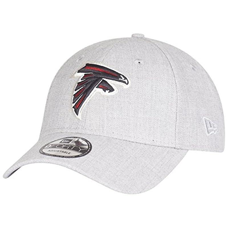 スロットオアシス比較的ニューエラ (New Era) 9フォーティ ストラップバック キャップ - アトランタ?ファルコンズ (Atlanta Falcons) ヘザー グレー