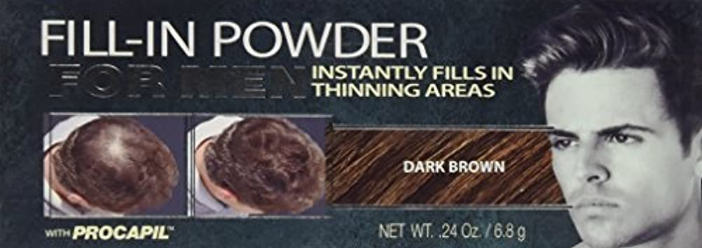 雷雨バルーンすすり泣きCover Your Gray Fill-In Powder for Men Dark Brown (並行輸入品)