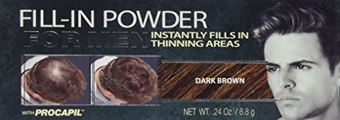 可能にする祭司密Cover Your Gray Fill-In Powder for Men Dark Brown (並行輸入品)