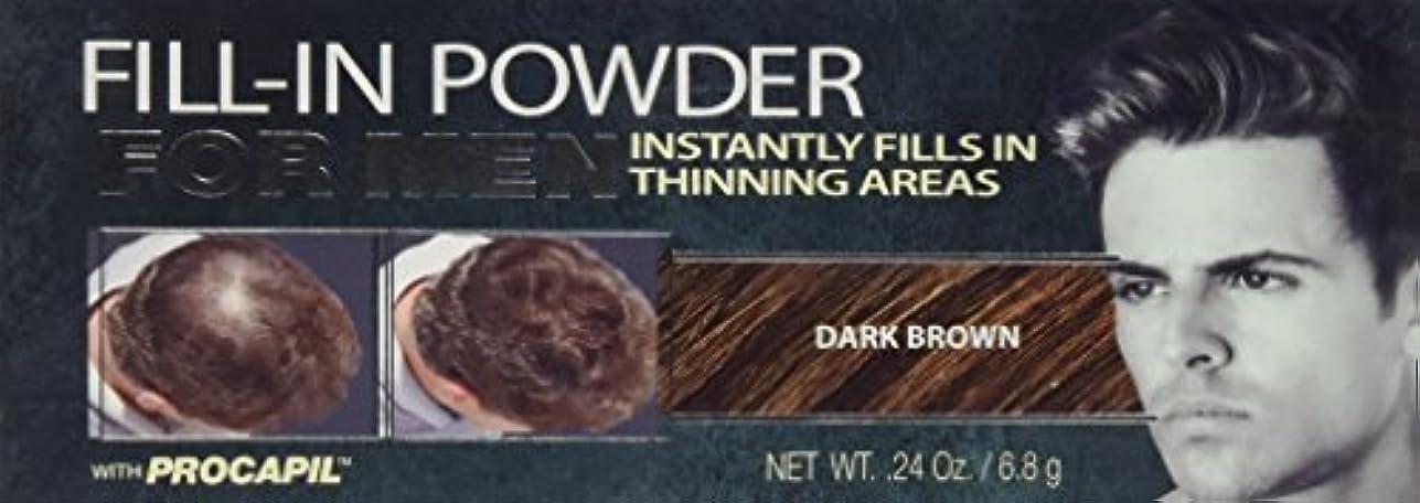 キャスト抽象フルーツCover Your Gray Fill-In Powder for Men Dark Brown (並行輸入品)