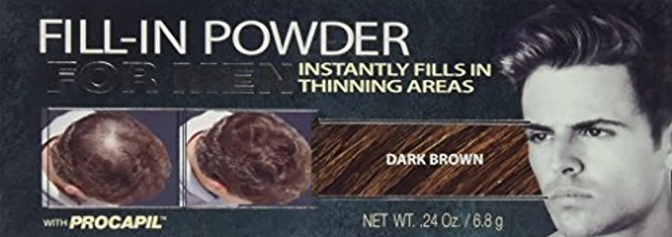 Cover Your Gray Fill-In Powder for Men Dark Brown (並行輸入品)