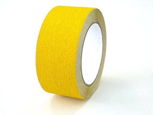 SGA-191 滑り止めテープ ロールタイプ 屋外・階段 50mm×5m (黄)
