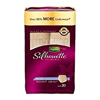 Depend Silhouette for Women Briefs, Small/Medium, Pack/20 by Kimberly-Clark