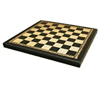 Worldwise Imports Pressed Leather Chess Board with 1in Squares by Worldwise Imports [並行輸入品]