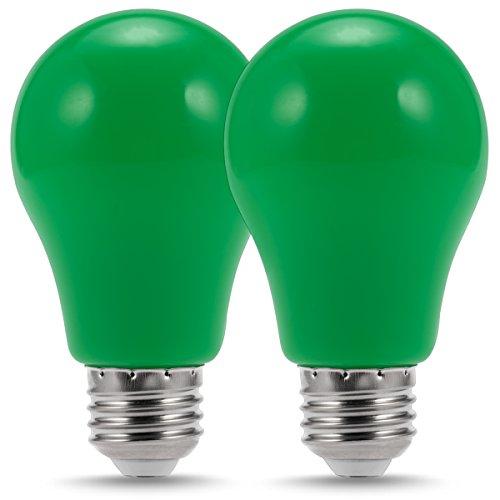 Luohaoshi LED丸形電球 緑色の光エジソンボール装...
