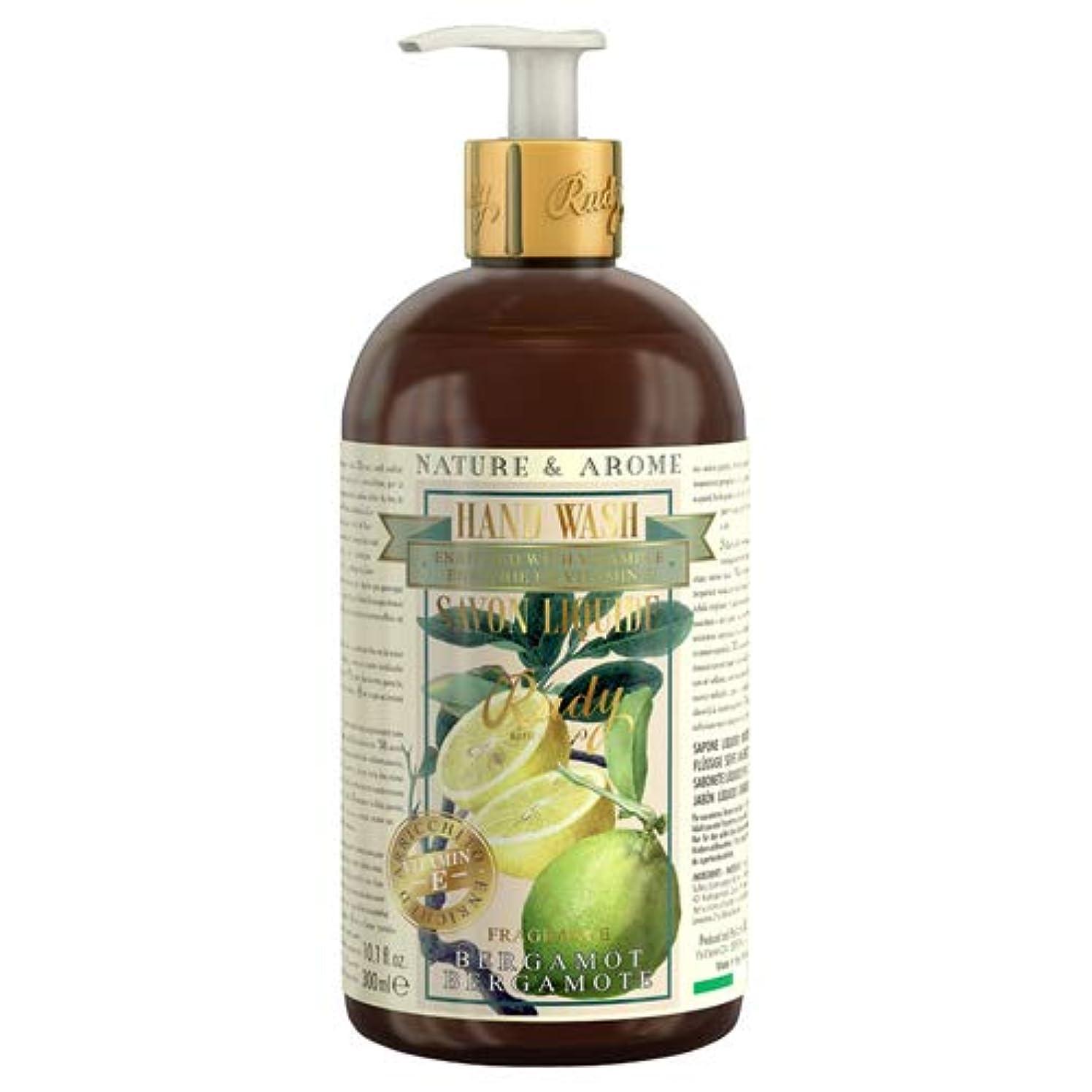 見通しポール従来のルディ(Rudy) RUDY Nature&Arome Apothecary ネイチャーアロマ アポセカリー Hand Wash ハンドウォッシュ(ボディソープ) Bergamot ベルガモット