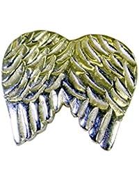 プレーンなアンティークシルバージュエリー孔雀のペンダントリットル0.7inのsppla-120038理世 [並行輸入品]