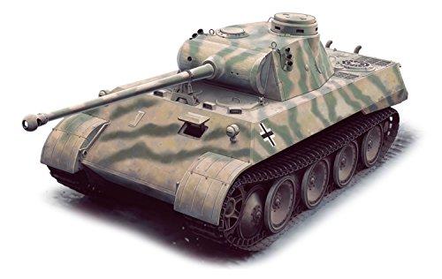 プラッツ 1/35 第二次世界大戦 ドイツ軍 パンターD型 V2 (試作2号車) プラモデル DR6822