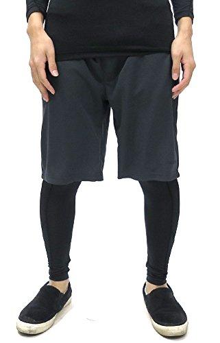 SPALDING(スポルディンク) ランニングウェア コンプレッション タイツ ショートパンツ セット メンズ