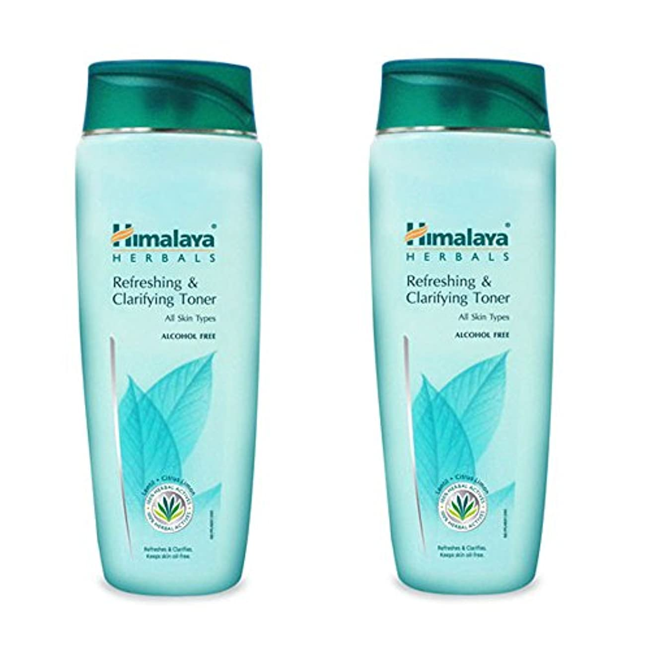 高架簡単にうるさいHimalaya Herbals Refreshing and Clarifying Toner, 100ml (Pack of 2)