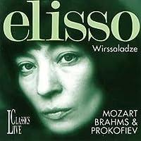 Elisso Wirssaladze Plays Moazrt, Brahms & Prokofiev by Elisso Wirssaladze (1998-09-01)