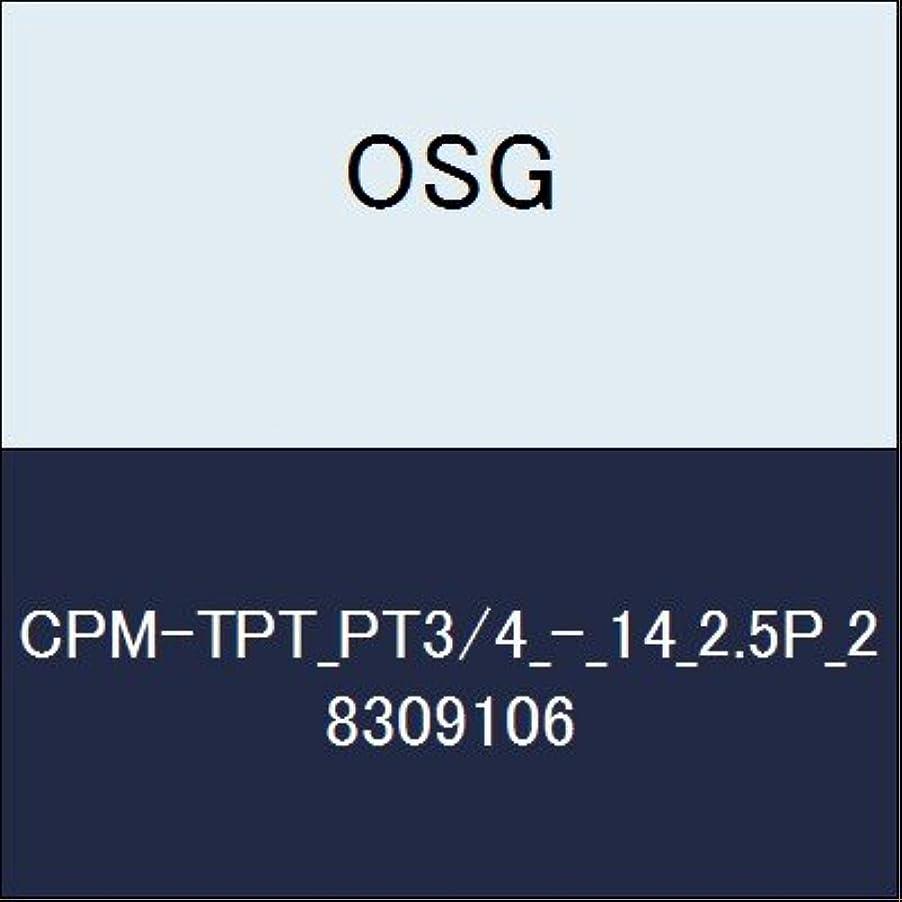 スローガン消化器ベースOSG ハイス管用テーパタップ CPM-TPT_PT3/4_-_14_2.5P_2 商品番号 8309106