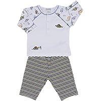 Kissy Kissy Baby-Boys Infant Dinosaur Roar Print Pant Set