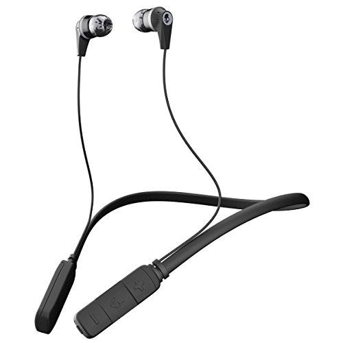 Skullcandy Ink'd Wireless ネックバンド式カナル型ワイヤレスイヤホン Bluetooth対応 BLACK A2IKW-J509【国内正規品】