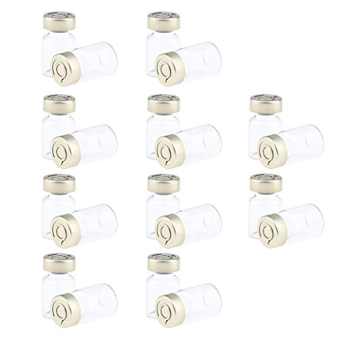 ベンチャー朝ごはん診断する約20個 密封バイアル 空ボトル ガラス密封 セラム バイアル びん 液体容器 3サイズ選べ - 5ミリリットル