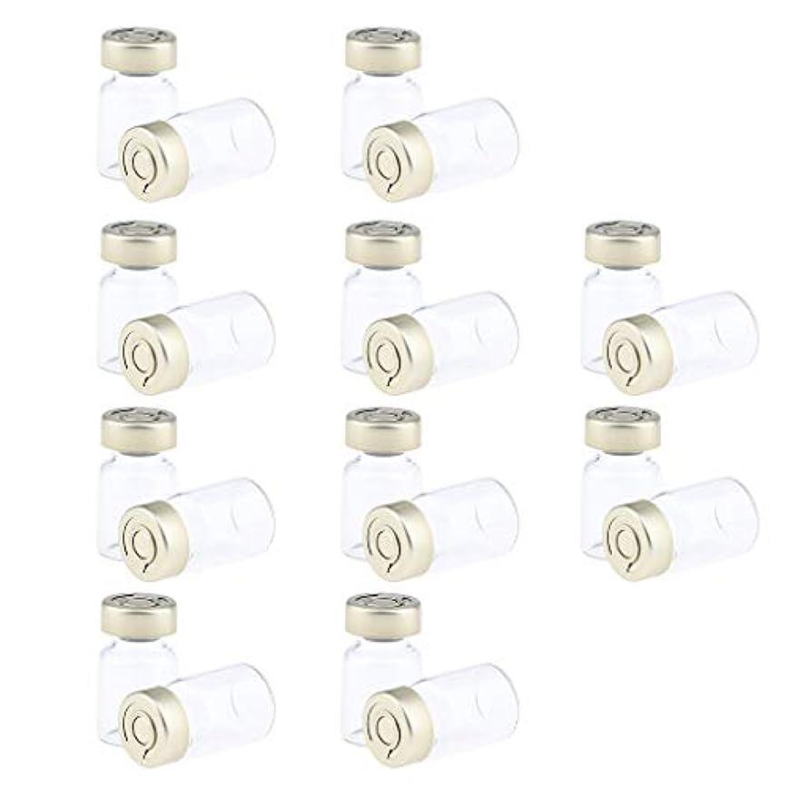 途方もない材料ラリー約20個 密封バイアル 空ボトル ガラス密封 セラム バイアル びん 液体容器 3サイズ選べ - 5ミリリットル