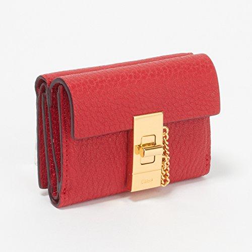 (クロエ) CHLOE 財布 3P0841-944 B5M PLAID RED 【DREW:ドリュー】 [並行輸入品]