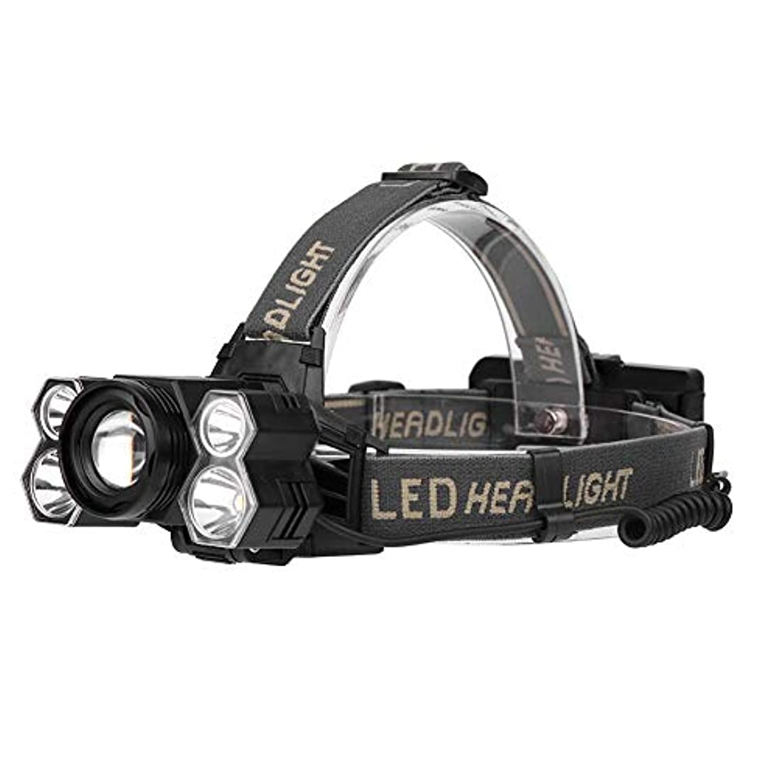 男やもめ聴覚障害者収穫5/7LED ヘッドライト 5モード調光 ズーム USB充電式 IP44防水 高輝度LED 作業灯 防災 登山 釣り ランニング 夜釣り キャンプ 対応 実用的 軽量 調整可能 ヘルメットライト ランタン 2スタイル選べ Matefieldjp