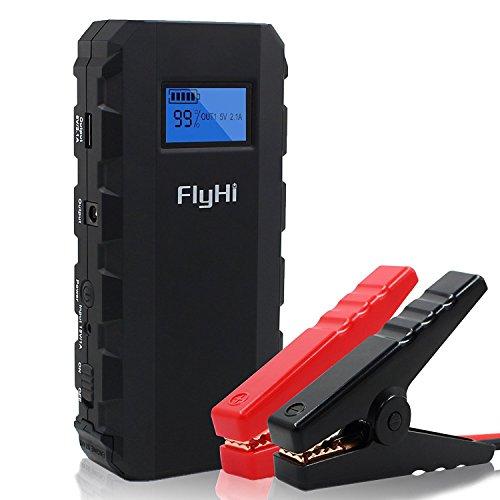 FlyHiカージャンプスターター500Aピーク13600mA...