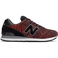 (ニューバランス) New Balance 靴?シューズ メンズライフスタイル 574 Beaded Black with Flame ブラック フレーム US 12 (30cm)