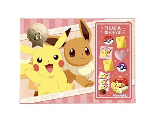 ポケットモンスターチョコレート 丸缶付きギフト 2020年 ポケモン ピカチュウ&イーブイ ホワイトデーギフト