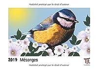 Mésanges 2019 - Calendrier de bureau Timokrates, calendrier photo, calendrier photo - DIN A5 (21 x 15 cm)