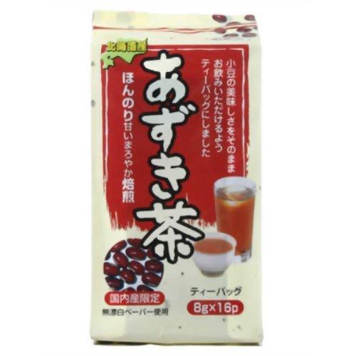 健茶館 あずき茶ティーバッグ16P 128g